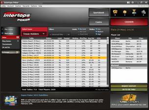 Intertops Poker Lobby