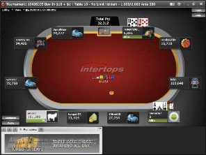 Intertops Poker Table