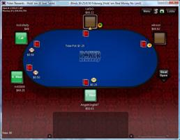 Poker player gives reward