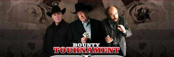 The Bounty! Play against Doyle Brunson! Huge bounty awards!